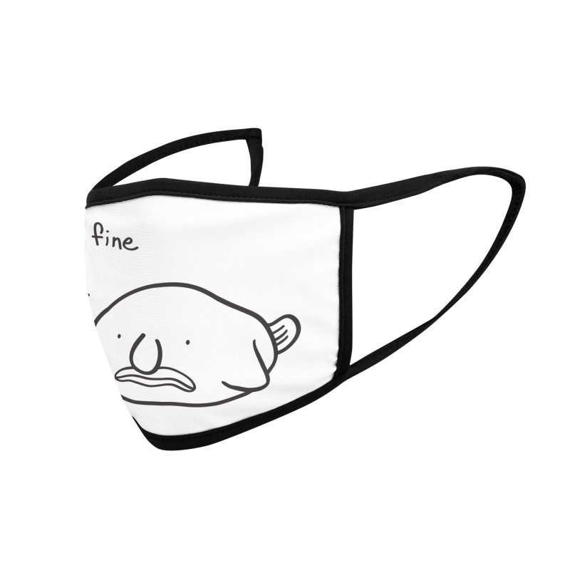 Blobfish is fine Accessories Face Mask by agrimony // Aaron Thong