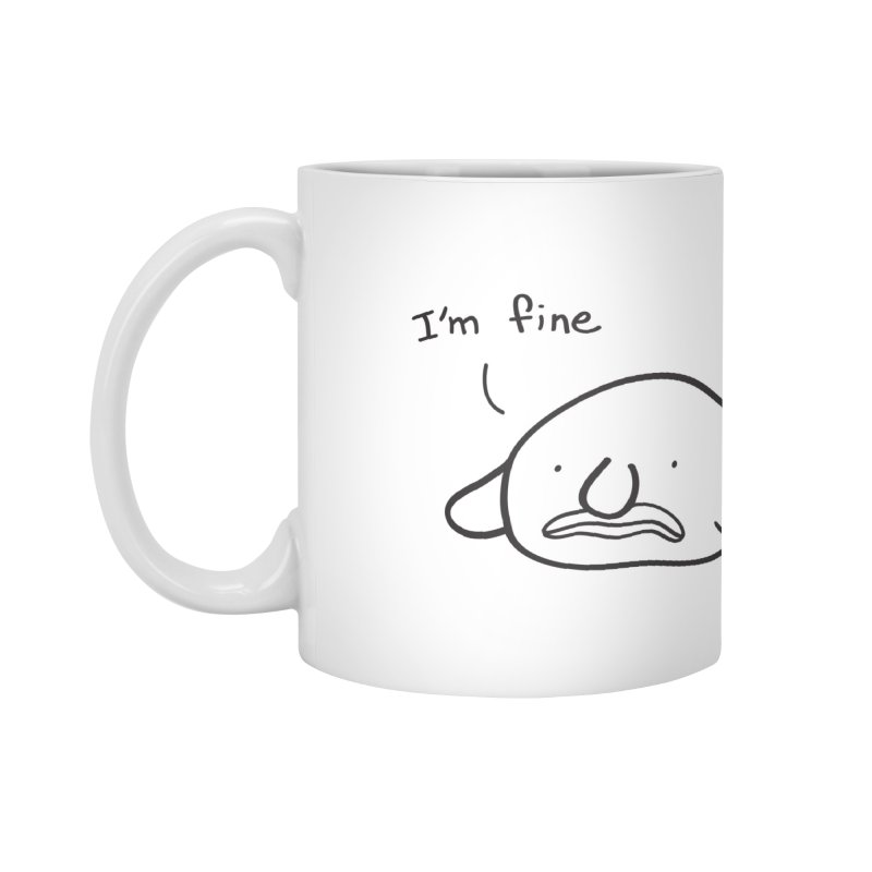 Blobfish is fine Accessories Standard Mug by agrimony // Aaron Thong