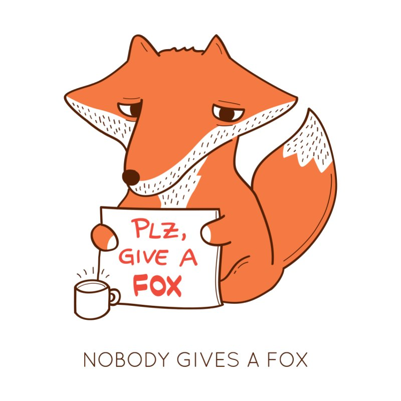 Nobody Gives A Fox Kids Baby T-Shirt by agrimony // Aaron Thong