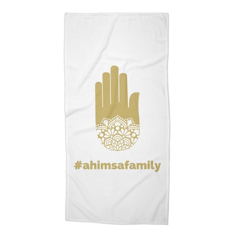 #ahimsafamily Design Accessories Beach Towel by ahimsafamily's shop