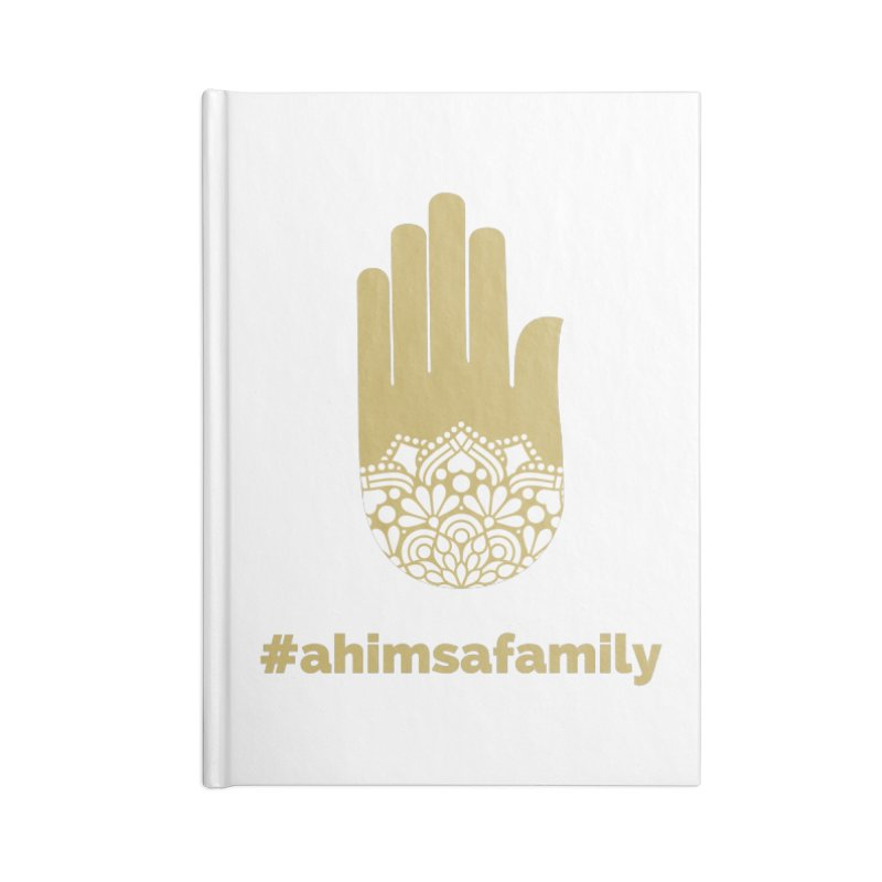 #ahimsafamily Design Accessories Blank Journal Notebook by ahimsafamily's shop