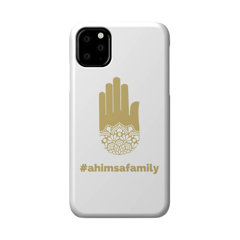 #ahimsafamily Design Accessories Phone Case by ahimsafamily's shop