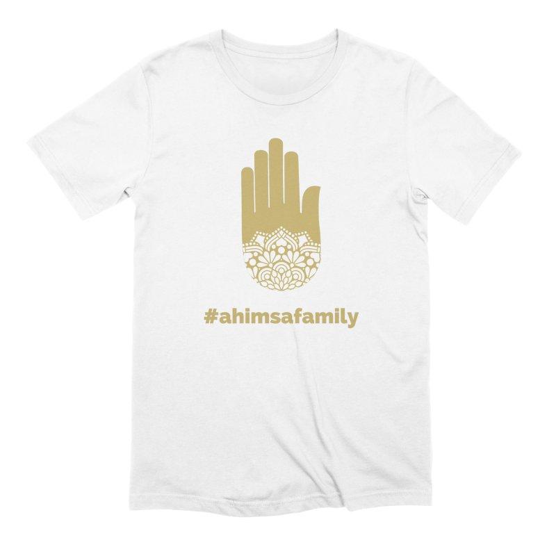 #ahimsafamily Design Men's Extra Soft T-Shirt by ahimsafamily's shop