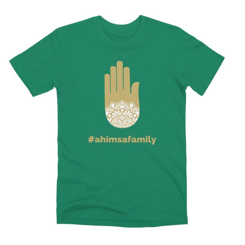 #ahimsafamily Design Men's Premium T-Shirt by ahimsafamily's shop