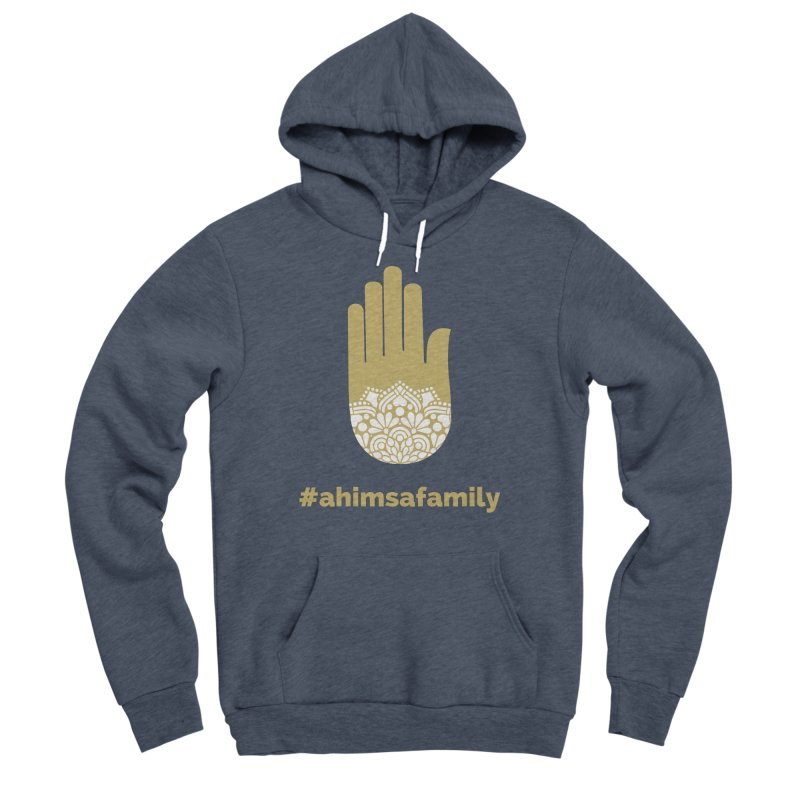 #ahimsafamily Design Women's Sponge Fleece Pullover Hoody by ahimsafamily's shop