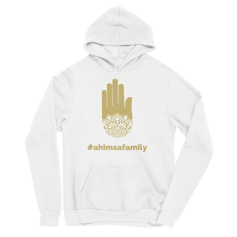 #ahimsafamily Design Men's Sponge Fleece Pullover Hoody by ahimsafamily's shop