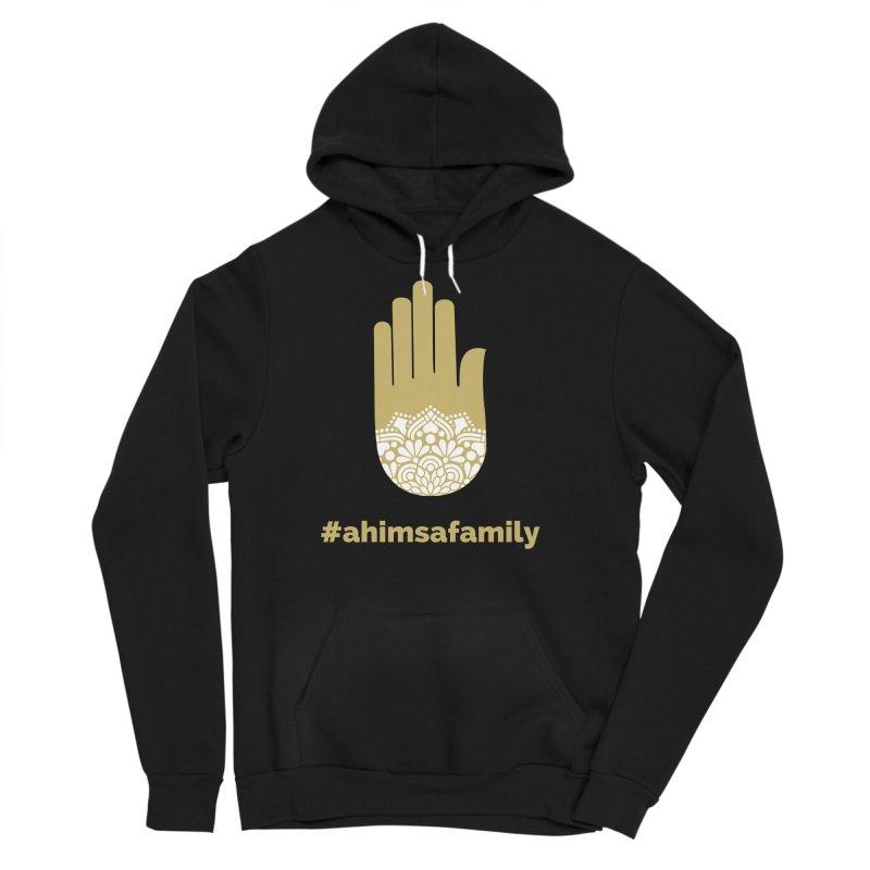 #ahimsafamily Design Men's Sponge Fleece Pullover Hoody by ahimsafamily's shop
