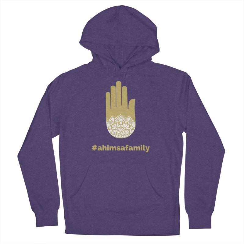 #ahimsafamily Design Women's French Terry Pullover Hoody by ahimsafamily's shop