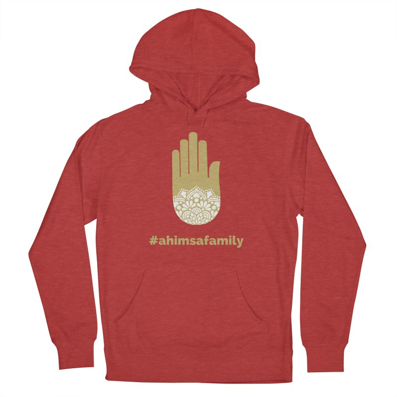 #ahimsafamily Design Women's French Terry Pullover Hoody by ahimsafamily's shop