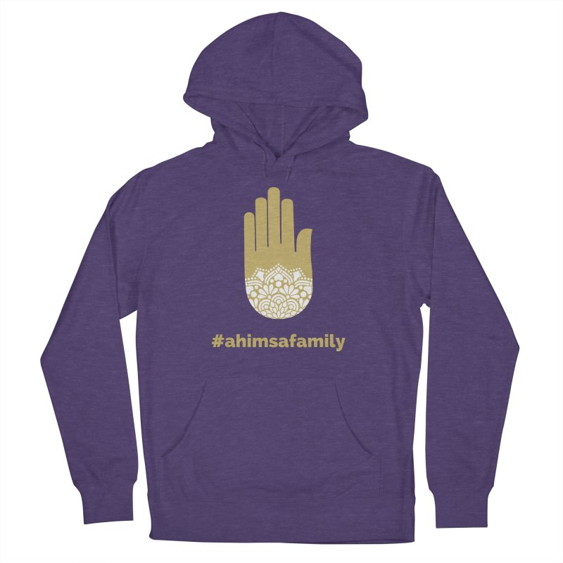 #ahimsafamily Design Men's French Terry Pullover Hoody by ahimsafamily's shop