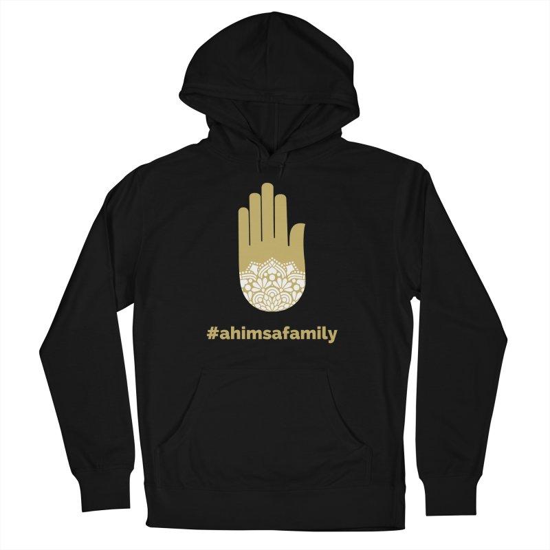 #ahimsafamily Design Men's French Terry Pullover Hoody by ahimsafamily's shop