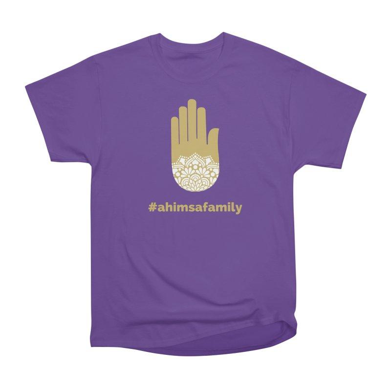 #ahimsafamily Design Men's Heavyweight T-Shirt by ahimsafamily's shop