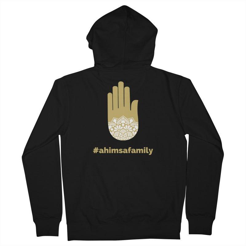 #ahimsafamily Design Women's French Terry Zip-Up Hoody by ahimsafamily's shop
