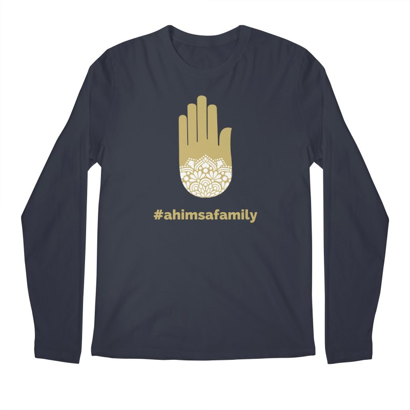 #ahimsafamily Design Men's Regular Longsleeve T-Shirt by ahimsafamily's shop