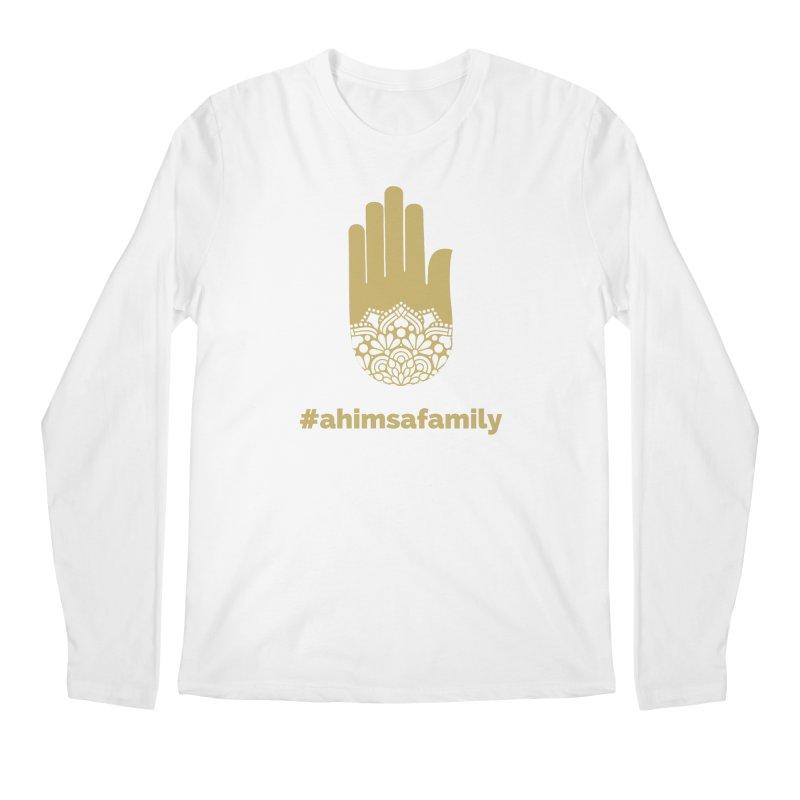 #ahimsafamily Design Men's Regular Longsleeve T-Shirt by ahimsafamily's shop