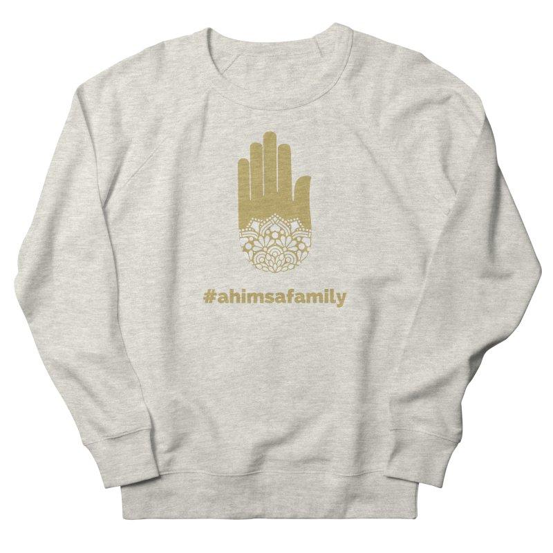 #ahimsafamily Design Women's French Terry Sweatshirt by ahimsafamily's shop