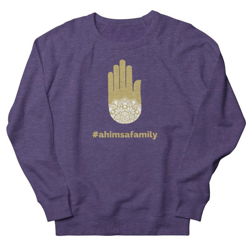 #ahimsafamily Design Men's French Terry Sweatshirt by ahimsafamily's shop