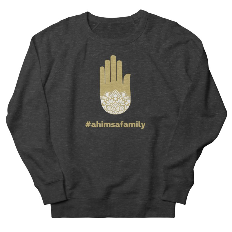 #ahimsafamily Design Men's French Terry Sweatshirt by ahimsafamily's shop