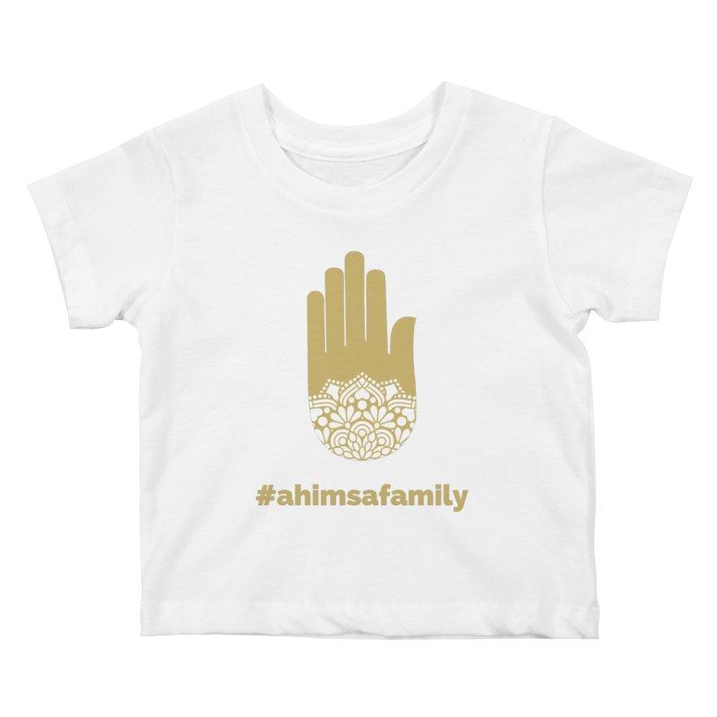 #ahimsafamily Design Kids Baby T-Shirt by ahimsafamily's shop