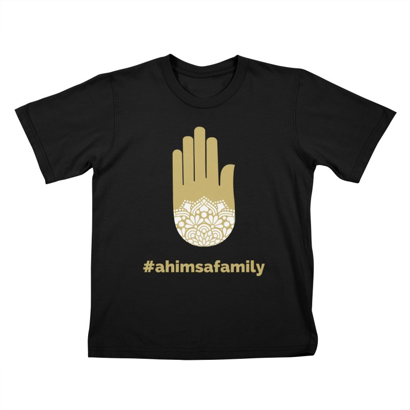 #ahimsafamily Design Kids T-Shirt by ahimsafamily's shop