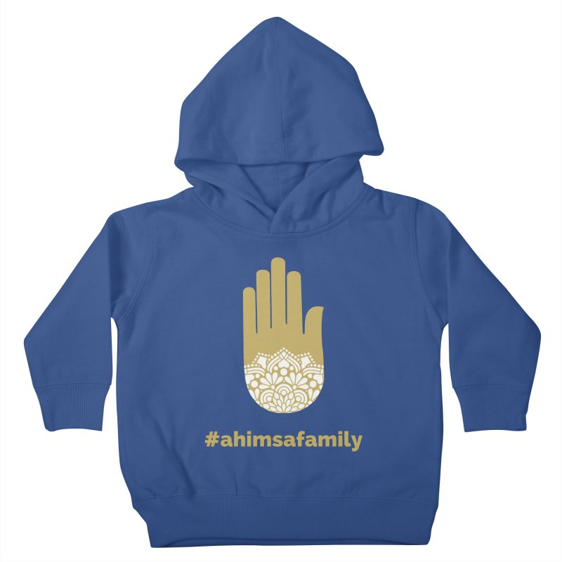 #ahimsafamily Design Kids Toddler Pullover Hoody by ahimsafamily's shop