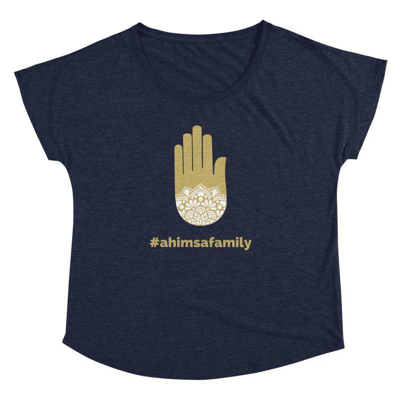 #ahimsafamily Design Women's Dolman Scoop Neck by ahimsafamily's shop
