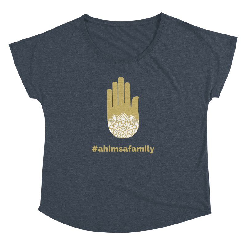 #ahimsafamily Design Women's Dolman Scoop Neck by ahimsafamily's shop