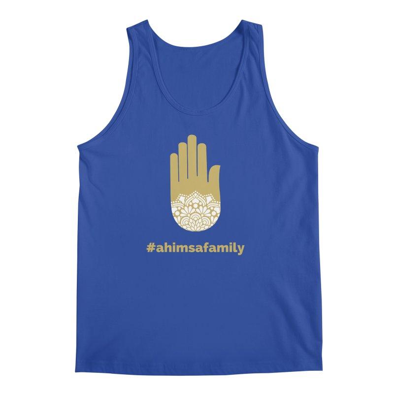 #ahimsafamily Design Men's Regular Tank by ahimsafamily's shop