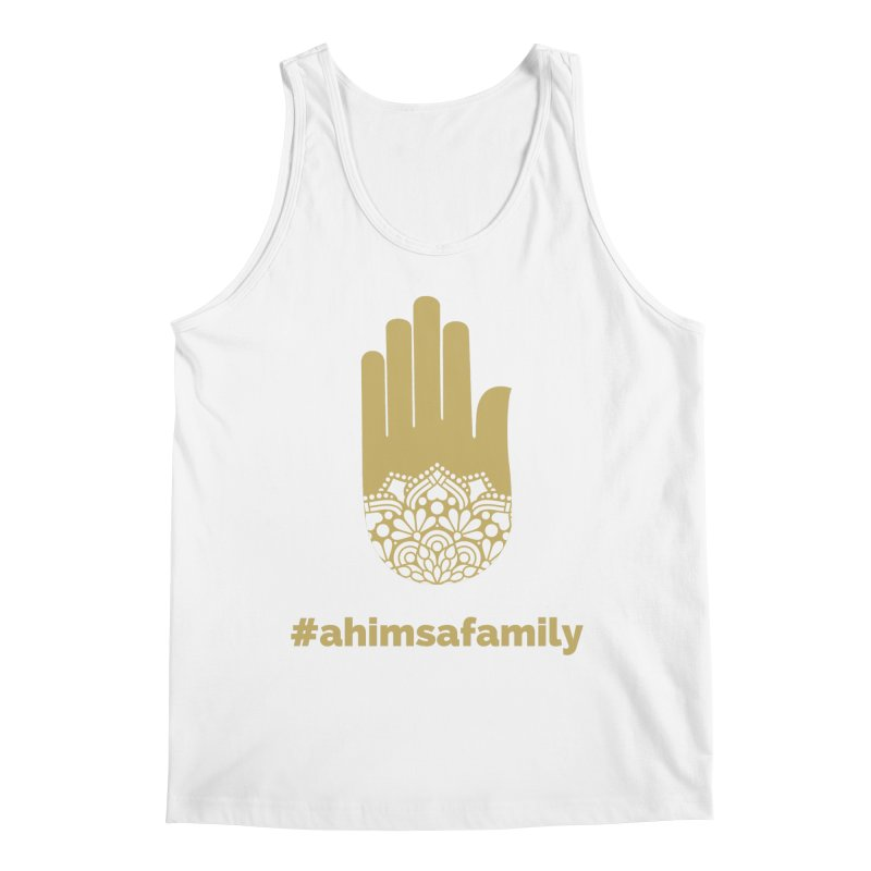 #ahimsafamily Design Men's Regular Tank by ahimsafamily's shop