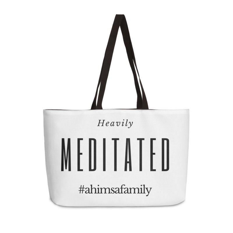 Heavily Meditated Design Accessories Bag by ahimsafamily's shop