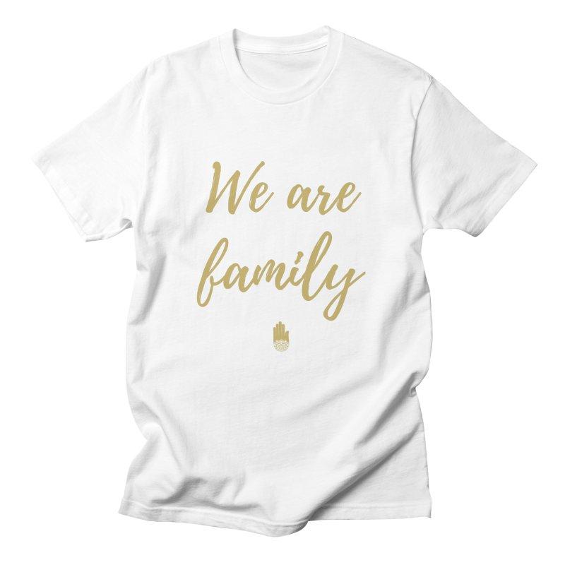 We Are Family | Gold Design Men's Regular T-Shirt by ahimsafamily's shop