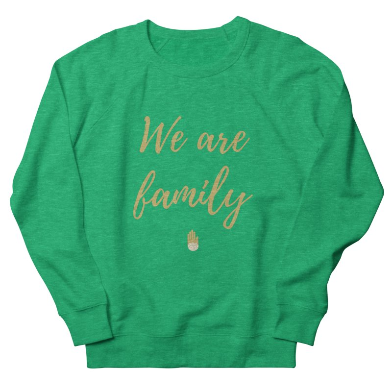 We Are Family | Gold Design Men's Sweatshirt by ahimsafamily's shop