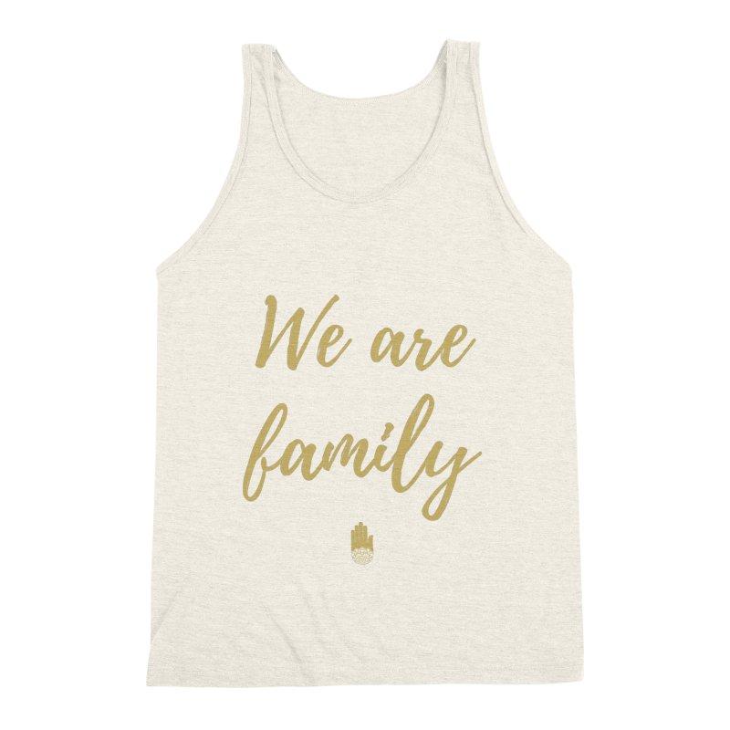 We Are Family | Gold Design Men's Tank by ahimsafamily's shop