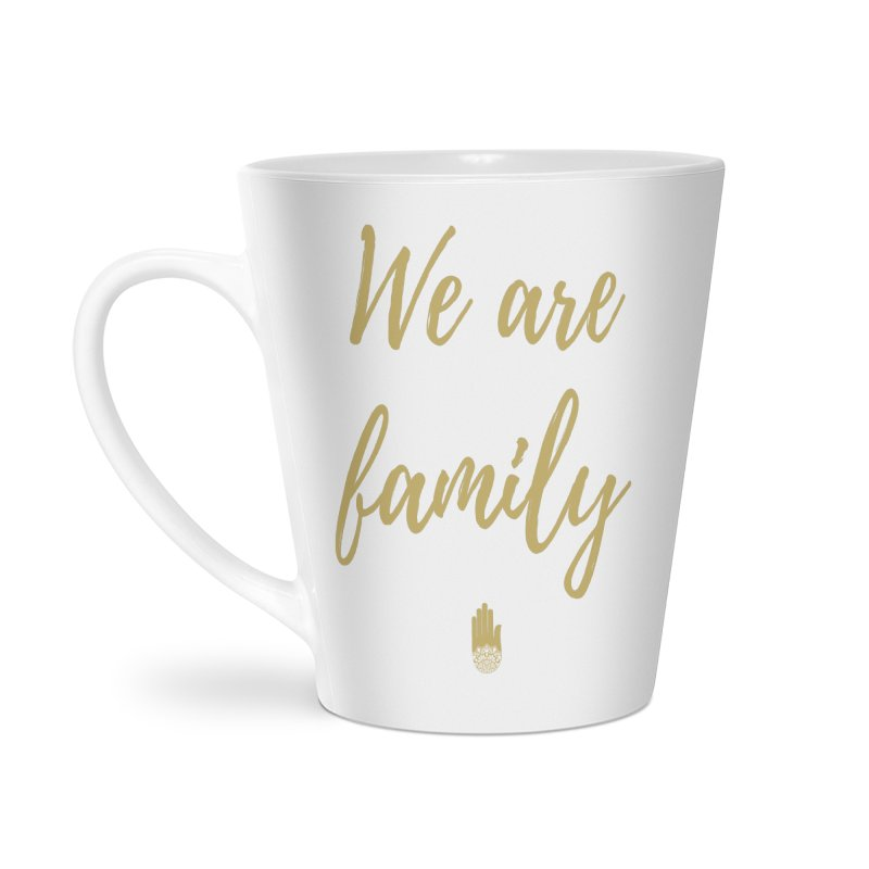 We Are Family | Gold Design Accessories Latte Mug by ahimsafamily's shop