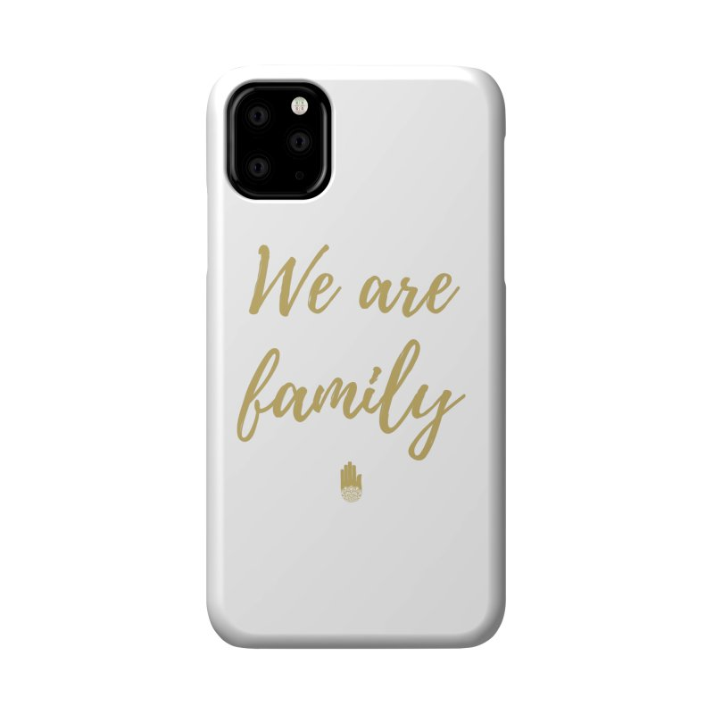 We Are Family | Gold Design Accessories Phone Case by ahimsafamily's shop
