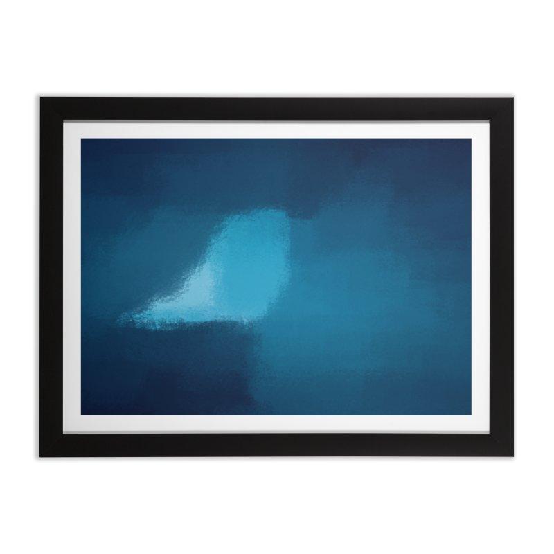 Frozen Breath Home Framed Fine Art Print by ahmadwehbe.com Merch
