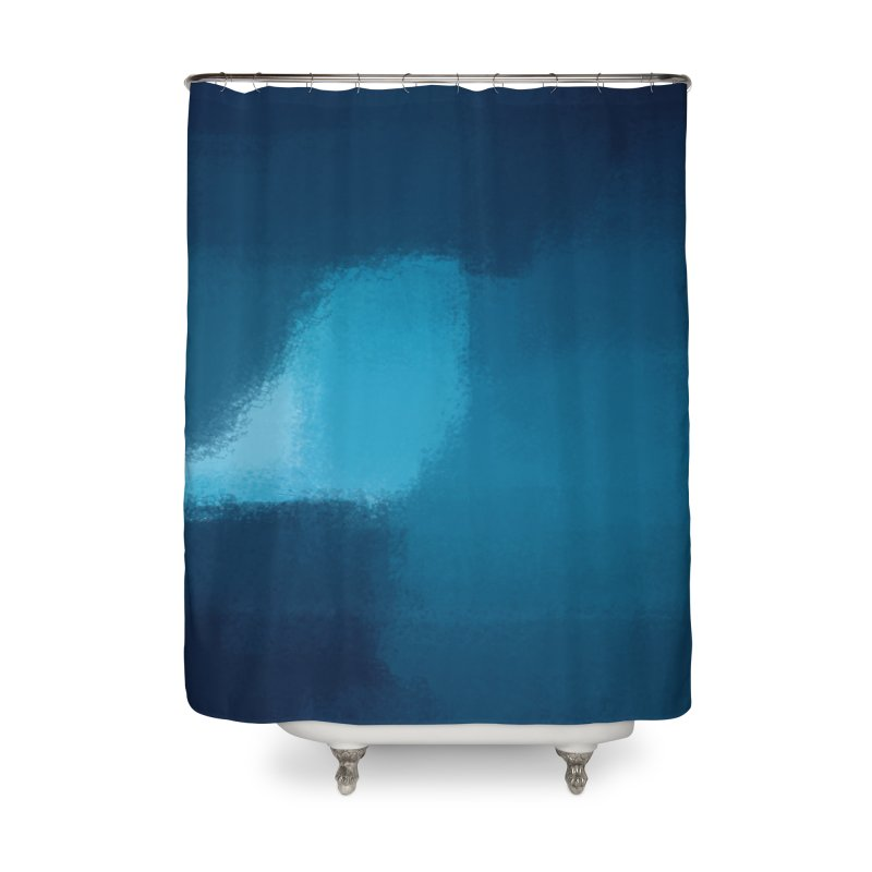 Frozen Breath Home Shower Curtain by ahmadwehbe.com Merch