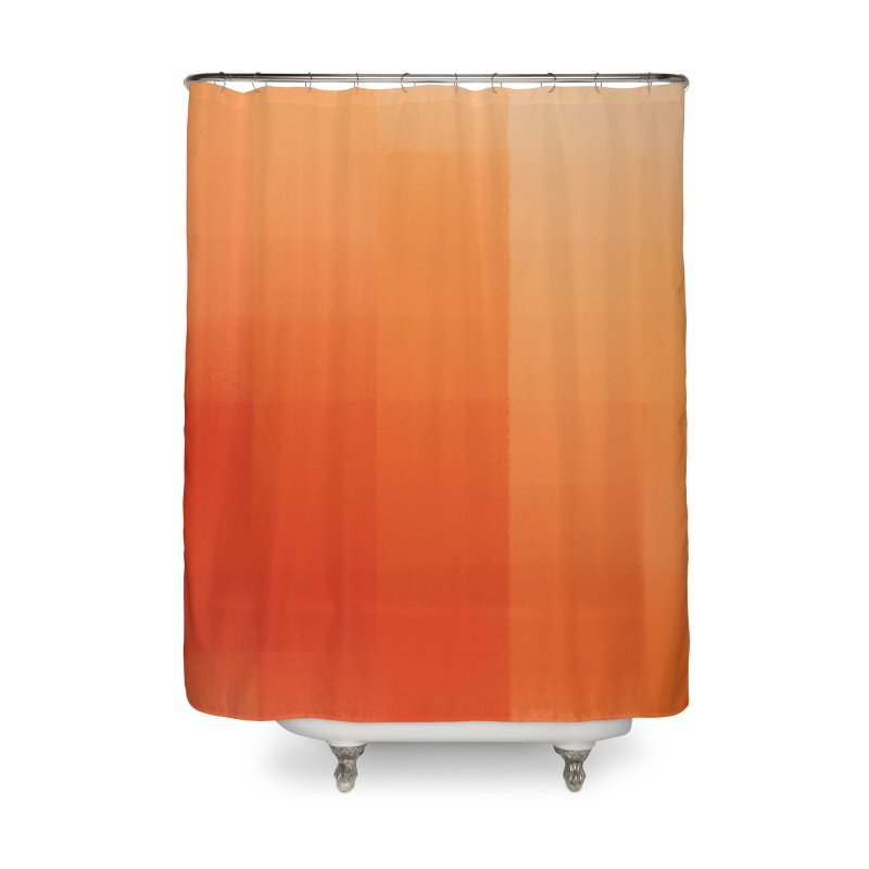 Oranges Home Shower Curtain by ahmadwehbe.com Merch
