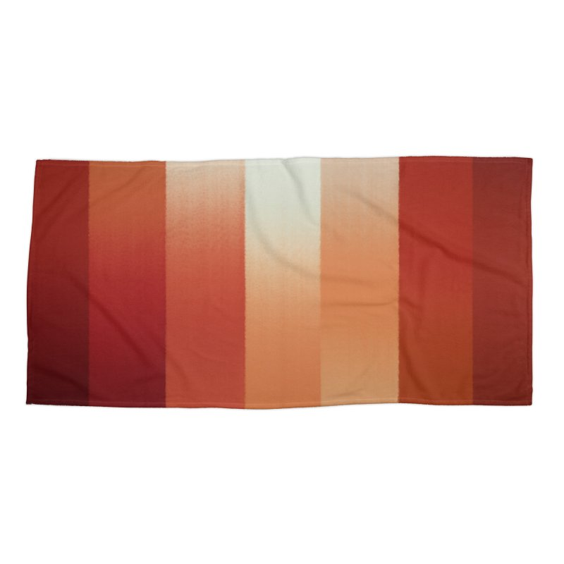 Valley of Reflection Accessories Beach Towel by ahmadwehbe.com Merch