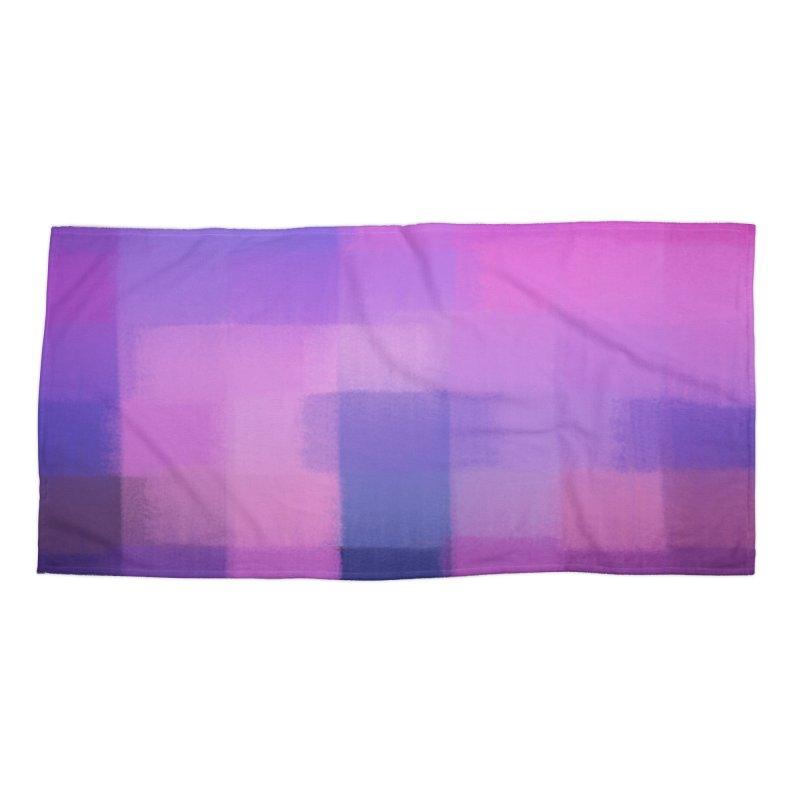 Furious Fastlane Accessories Beach Towel by ahmadwehbe.com Merch