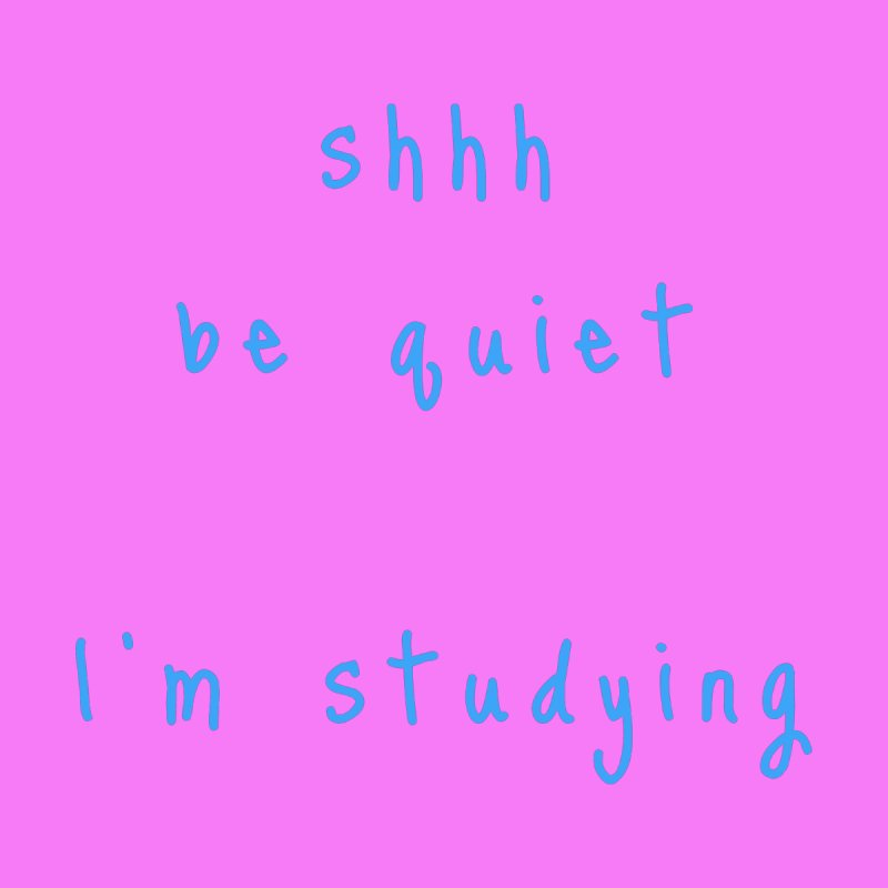 shhh be quiet I'm studying v1 - LIGHT BLUE font Accessories Beach Towel by ahmadwehbe.com Merch