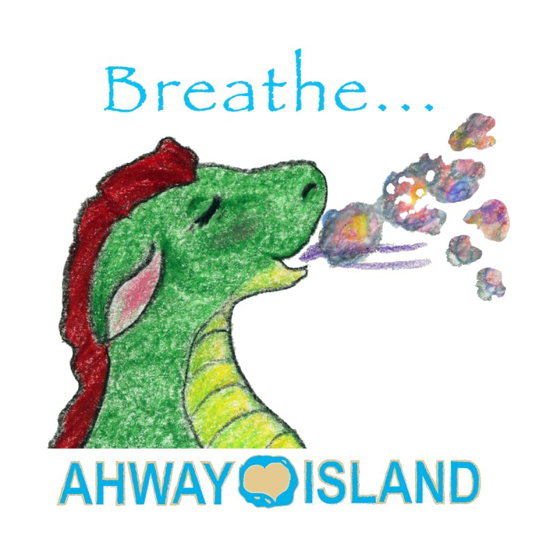 Dragon's Breath Merchandise Men's T-Shirt by ahwayisland's Artist Shop