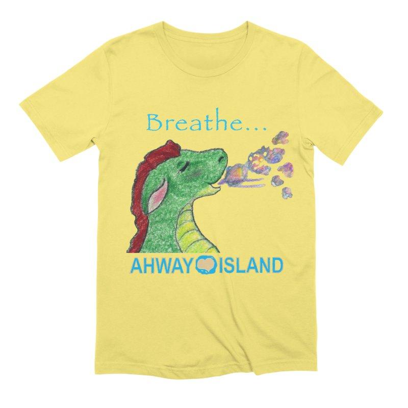 Dragon's Breath Merchandise Men's T-Shirt by ahwayisland's Artist Shop