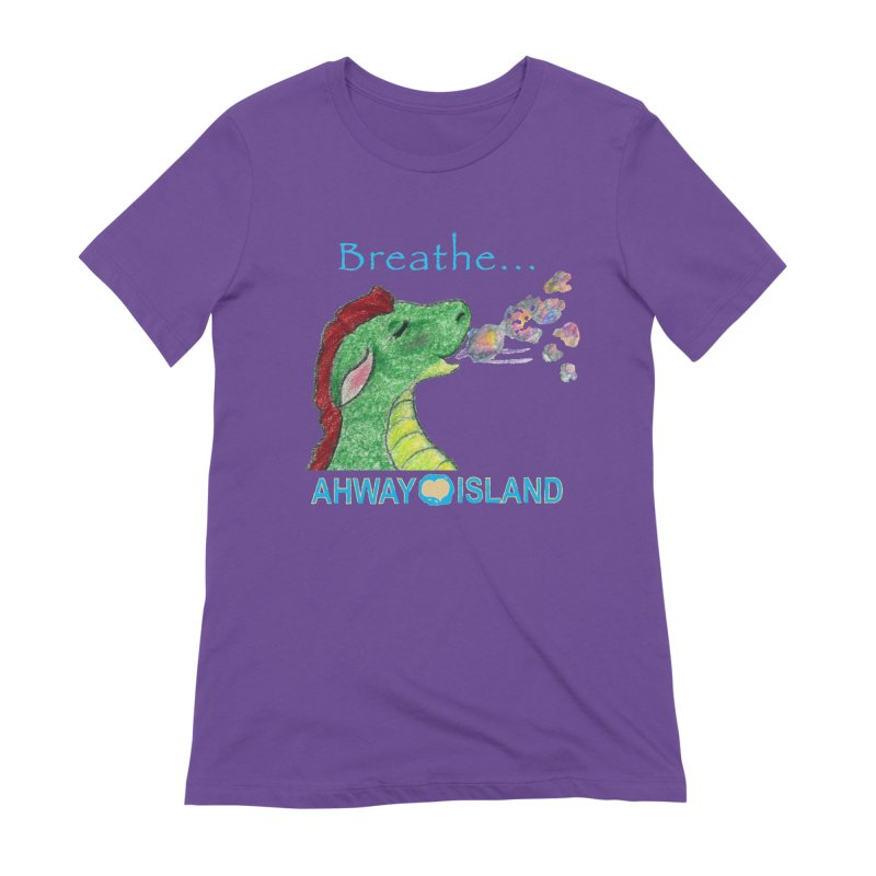 Dragon's Breath Merchandise Women's Extra Soft T-Shirt by ahwayisland's Artist Shop