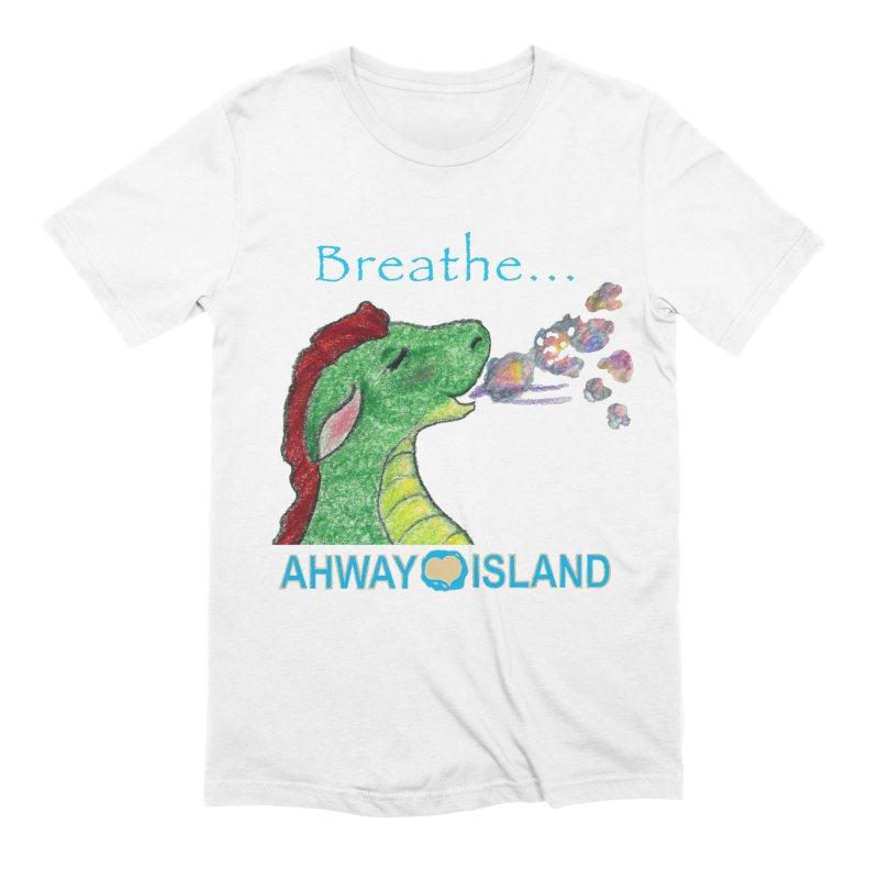 Dragon's Breath Merchandise Men's Extra Soft T-Shirt by ahwayisland's Artist Shop