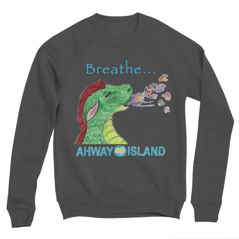 Dragon's Breath Men's Sponge Fleece Sweatshirt by ahwayisland's Artist Shop