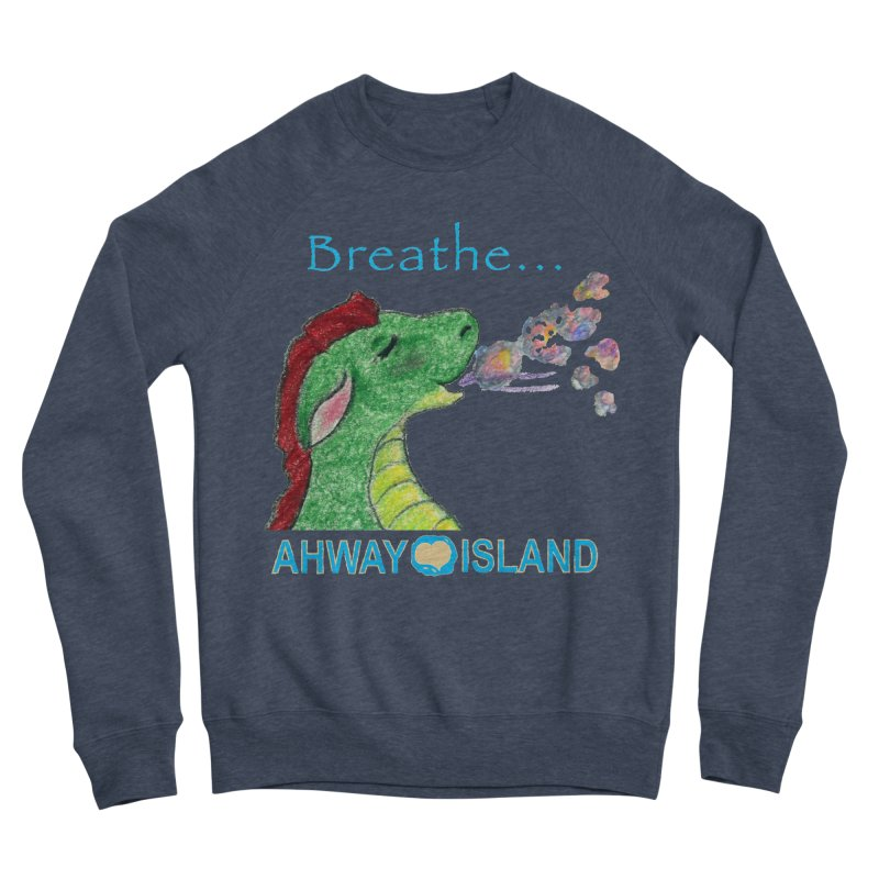 Dragon's Breath Merchandise Women's Sponge Fleece Sweatshirt by ahwayisland's Artist Shop