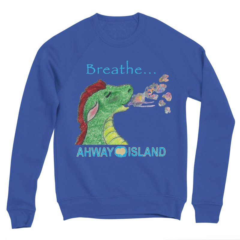 Dragon's Breath Merchandise Men's Sweatshirt by ahwayisland's Artist Shop