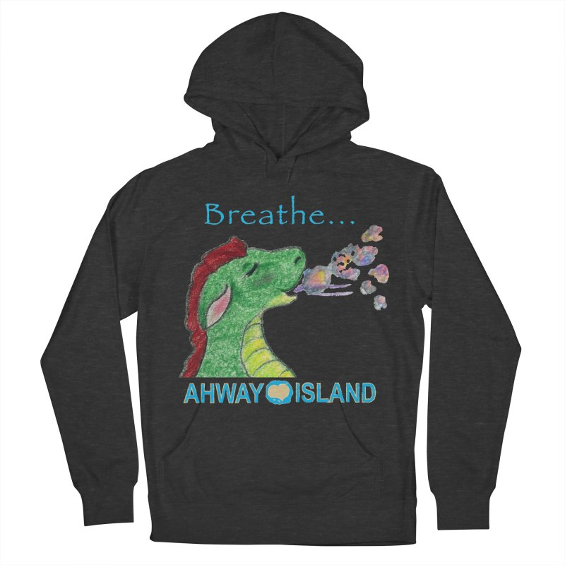 Dragon's Breath Merchandise Men's French Terry Pullover Hoody by ahwayisland's Artist Shop