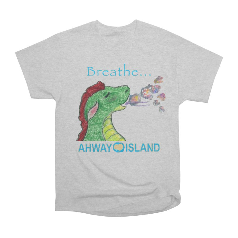 Dragon's Breath Men's Heavyweight T-Shirt by ahwayisland's Artist Shop